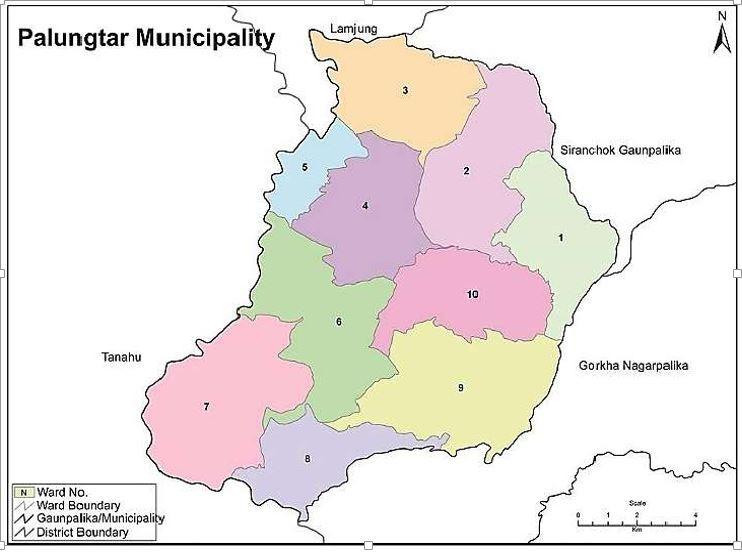 Palungtar Map Smart City